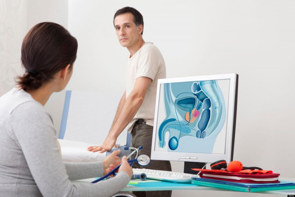 Пациент в кабинете у врача
