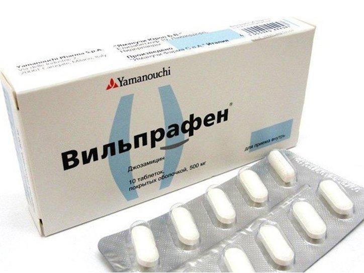Будет ли прок от применения Вильпрафена для лечения простатита