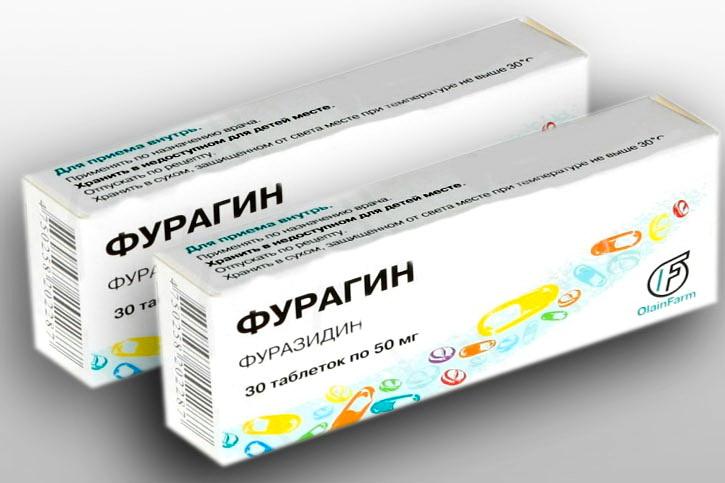 Применение Фурагина при цистите, схема лечения